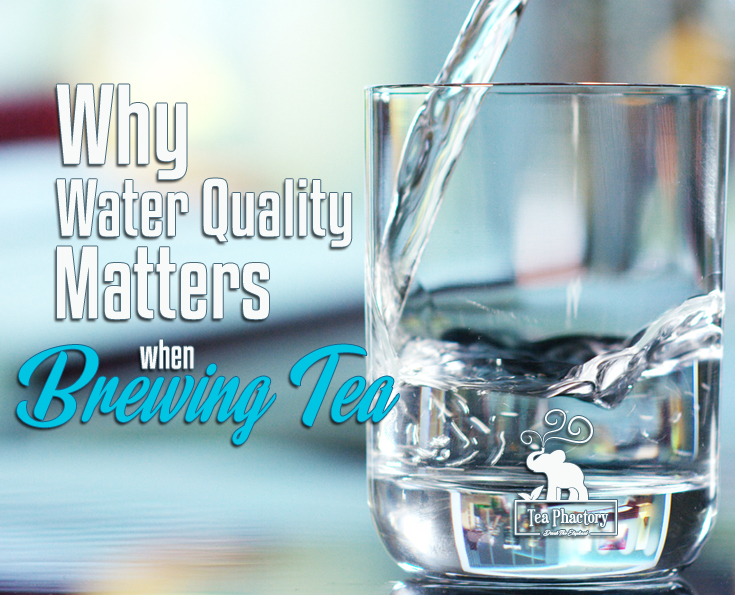 Water Quality Matters Brewing Tea