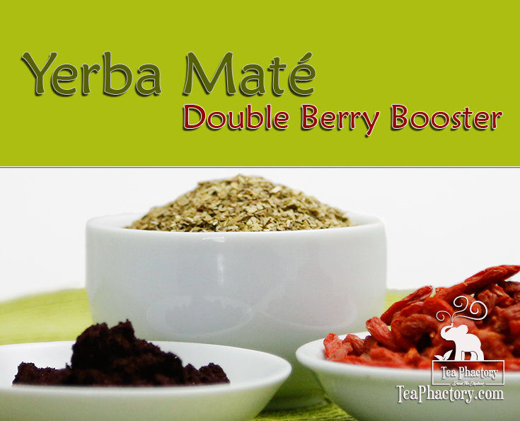 Yerba Mate Double Berry Booster