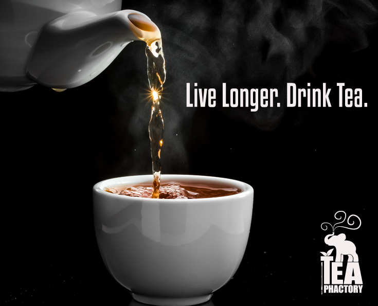 live longer drink tea